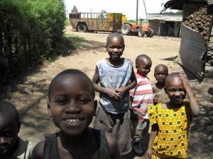 Some of the Kenyan children