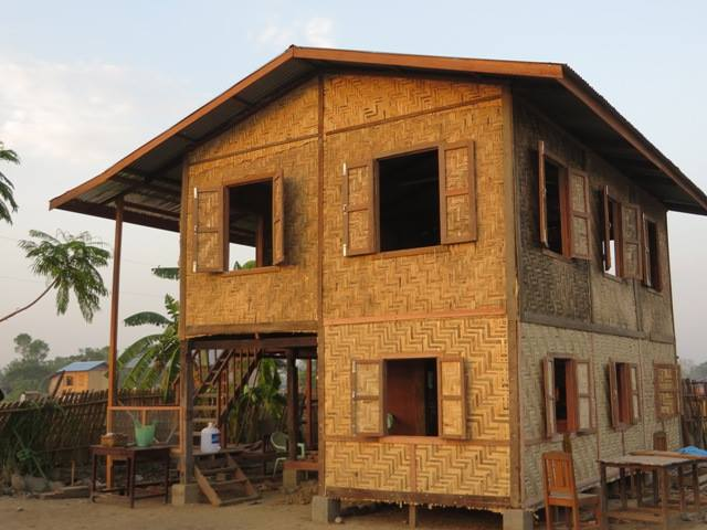 Updated house in Myanmar